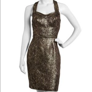 💎💎ANDREW MARC💎💎WOMENS GOLD DRESS